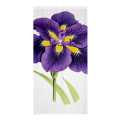 Lily Flower Plant Blossom Bloom Shower Curtain 36  X 72  (stall)