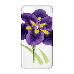 Lily Flower Plant Blossom Bloom Apple Iphone 7 Hardshell Case