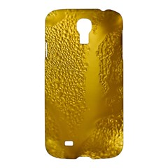 Beer Beverage Glass Yellow Cup Samsung Galaxy S4 I9500/i9505 Hardshell Case by Nexatart