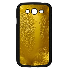 Beer Beverage Glass Yellow Cup Samsung Galaxy Grand Duos I9082 Case (black) by Nexatart