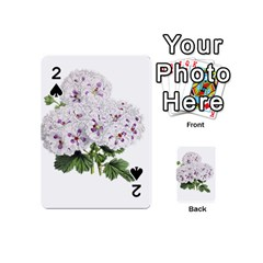Flower Plant Blossom Bloom Vintage Playing Cards 54 (mini)  by Nexatart