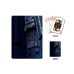Graphic Design Background Playing Cards (mini)  by Nexatart