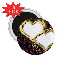 Lover Romantic Couple Apart 2 25  Magnets (10 Pack)  by Nexatart