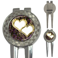 Lover Romantic Couple Apart 3 In 1 Golf Divots by Nexatart