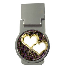 Lover Romantic Couple Apart Money Clips (round)  by Nexatart