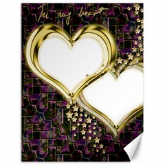 Lover Romantic Couple Apart Canvas 18  X 24   by Nexatart