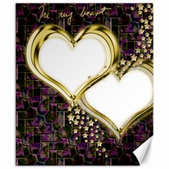Lover Romantic Couple Apart Canvas 20  X 24   by Nexatart