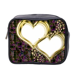 Lover Romantic Couple Apart Mini Toiletries Bag 2 Side