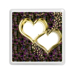 Lover Romantic Couple Apart Memory Card Reader (square)  by Nexatart