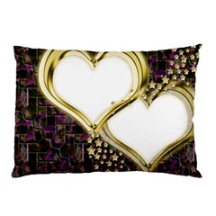 Lover Romantic Couple Apart Pillow Case (two Sides) by Nexatart