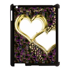 Lover Romantic Couple Apart Apple Ipad 3/4 Case (black) by Nexatart