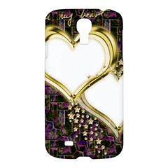 Lover Romantic Couple Apart Samsung Galaxy S4 I9500/i9505 Hardshell Case