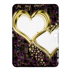 Lover Romantic Couple Apart Samsung Galaxy Tab 4 (10 1 ) Hardshell Case