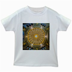 Arches Architecture Cathedral Kids White T Shirts by Nexatart