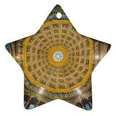 Arches Architecture Cathedral Star Ornament (two Sides) by Nexatart