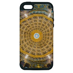 Arches Architecture Cathedral Apple Iphone 5 Hardshell Case (pc+silicone)