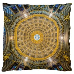Arches Architecture Cathedral Large Flano Cushion Case (two Sides) by Nexatart
