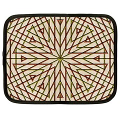Kaleidoscope Online Triangle Netbook Case (large)