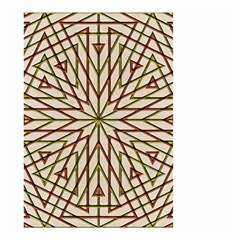 Kaleidoscope Online Triangle Small Garden Flag (two Sides) by Nexatart