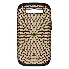 Kaleidoscope Online Triangle Samsung Galaxy S Iii Hardshell Case (pc+silicone)