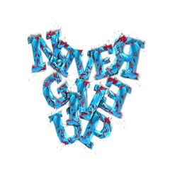 Sport Crossfit Fitness Gym Never Give Up Shower Curtain 60  X 72  (medium)  by Nexatart