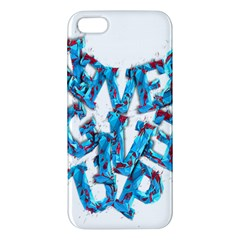 Sport Crossfit Fitness Gym Never Give Up Apple Iphone 5 Premium Hardshell Case by Nexatart