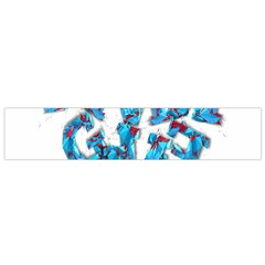 Sport Crossfit Fitness Gym Never Give Up Flano Scarf (small) by Nexatart