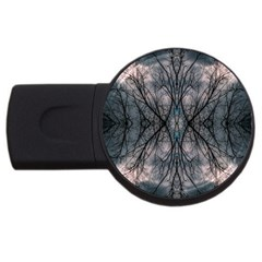 Storm Nature Clouds Landscape Tree Usb Flash Drive Round (2 Gb)