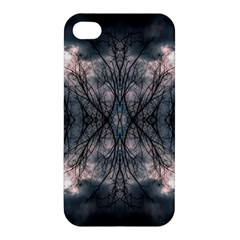 Storm Nature Clouds Landscape Tree Apple Iphone 4/4s Premium Hardshell Case by Nexatart