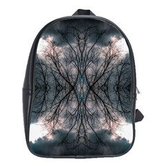 Storm Nature Clouds Landscape Tree School Bags (xl)  by Nexatart