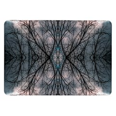 Storm Nature Clouds Landscape Tree Samsung Galaxy Tab 8 9  P7300 Flip Case by Nexatart