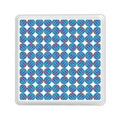 Geometric Dots Pattern Rainbow Memory Card Reader (square)  by Nexatart