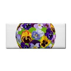Spring Pansy Blossom Bloom Plant Cosmetic Storage Cases