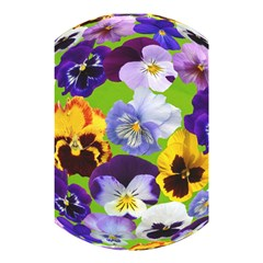 Spring Pansy Blossom Bloom Plant Shower Curtain 48  X 72  (small)  by Nexatart