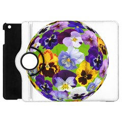 Spring Pansy Blossom Bloom Plant Apple Ipad Mini Flip 360 Case by Nexatart