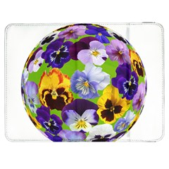 Spring Pansy Blossom Bloom Plant Samsung Galaxy Tab 7  P1000 Flip Case by Nexatart