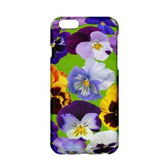 Spring Pansy Blossom Bloom Plant Apple Iphone 6/6s Hardshell Case