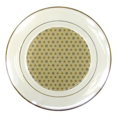 Star Basket Pattern Basket Pattern Porcelain Plates by Nexatart