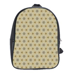 Star Basket Pattern Basket Pattern School Bags (xl)  by Nexatart