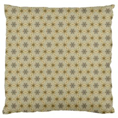 Star Basket Pattern Basket Pattern Large Flano Cushion Case (two Sides) by Nexatart