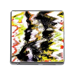 Canvas Acrylic Digital Design Memory Card Reader (square) by Nexatart