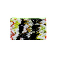Canvas Acrylic Digital Design Cosmetic Bag (xs) by Nexatart