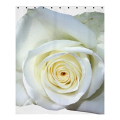 Flower White Rose Lying Shower Curtain 60  X 72  (medium)