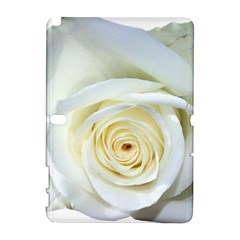 Flower White Rose Lying Galaxy Note 1 by Nexatart