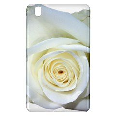 Flower White Rose Lying Samsung Galaxy Tab Pro 8 4 Hardshell Case