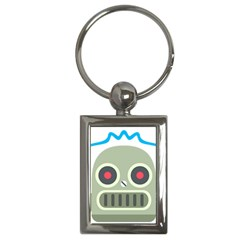Robot Key Chains (rectangle)  by BestEmojis