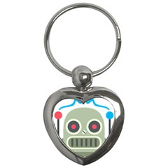 Robot Key Chains (heart)  by BestEmojis