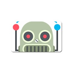 Robot Magnet (name Card) by BestEmojis