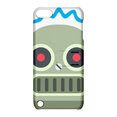 Robot Apple Ipod Touch 5 Hardshell Case With Stand by BestEmojis