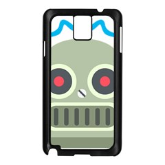 Robot Samsung Galaxy Note 3 N9005 Case (black) by BestEmojis
